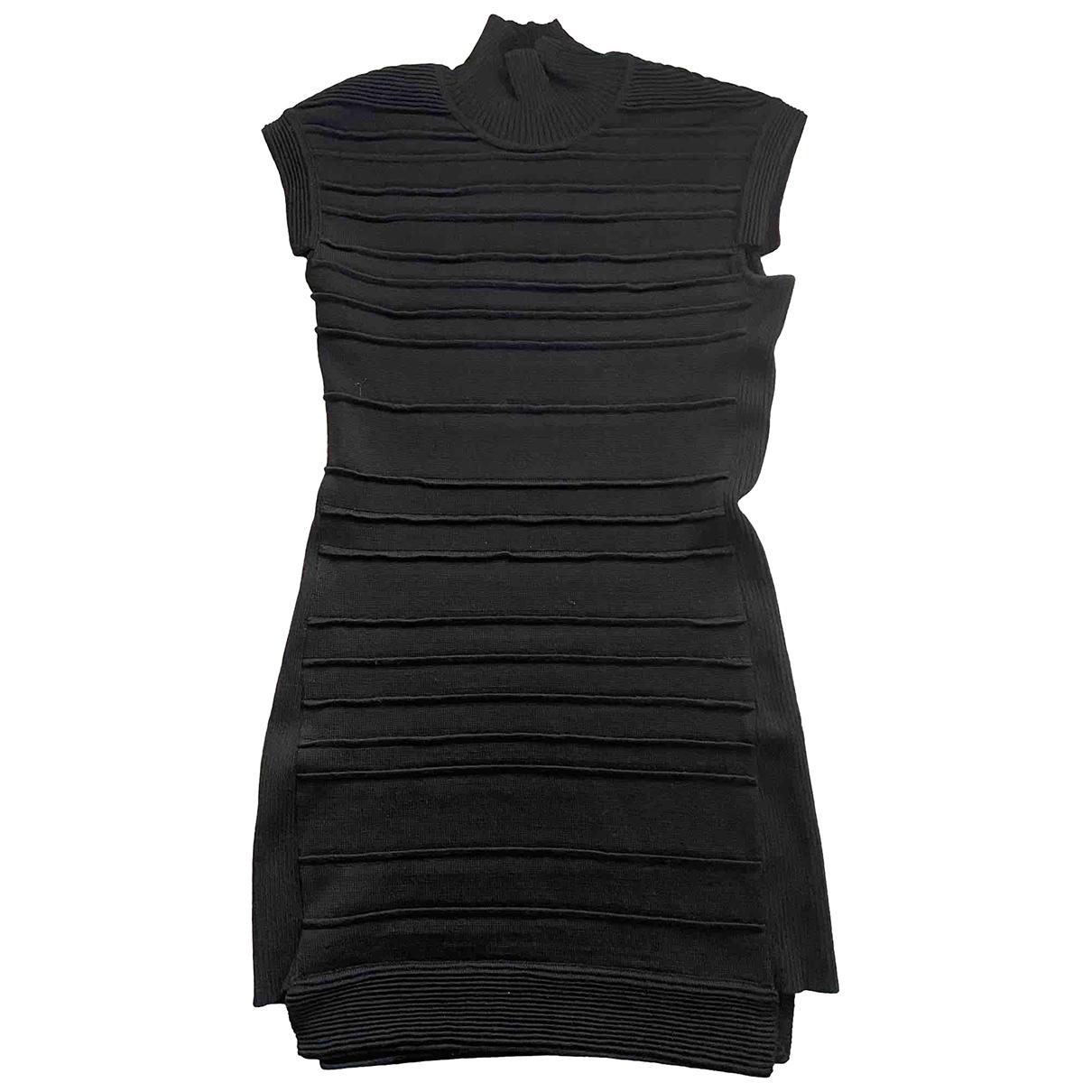 Hakaan \N Kleid in  Schwarz Wolle