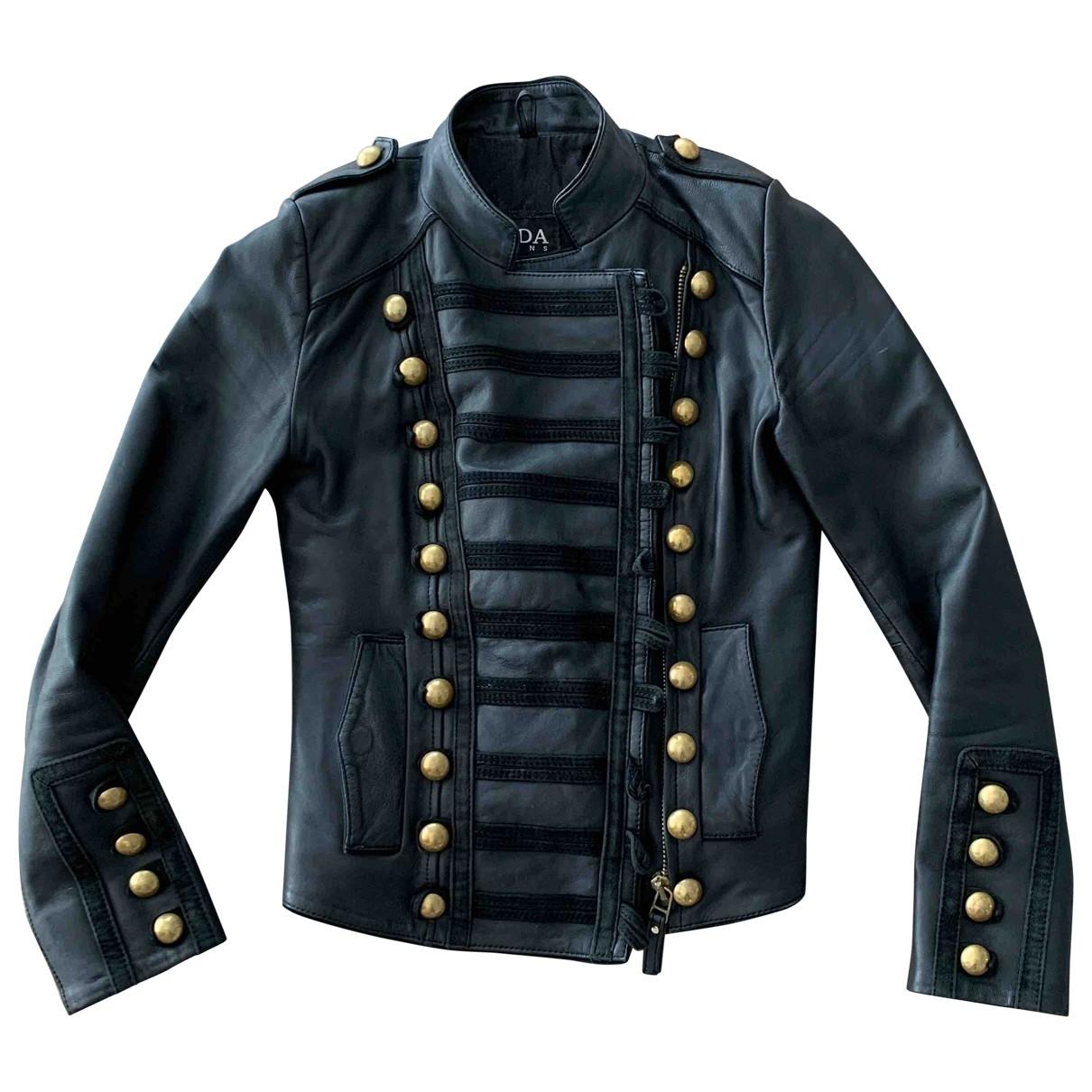 Bodaskins \N Black Leather jacket for Women 34 FR