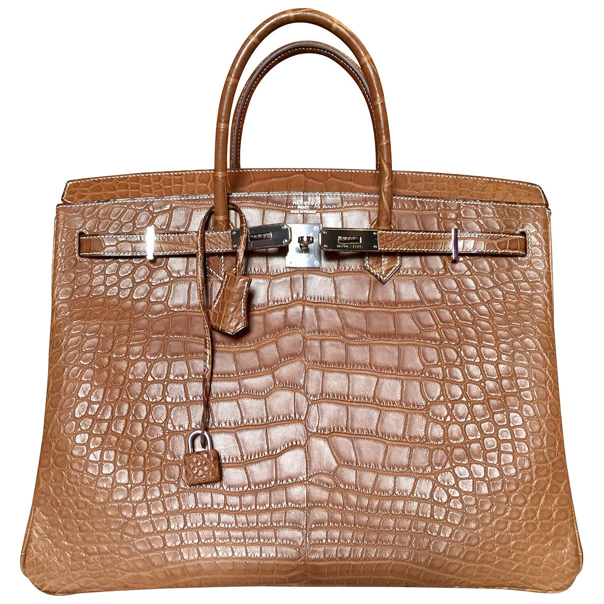 Hermès Birkin 40 Alligator handbag for Women \N