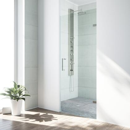 Soho Collection VG6072STCL28 Adjustable Frameless Shower