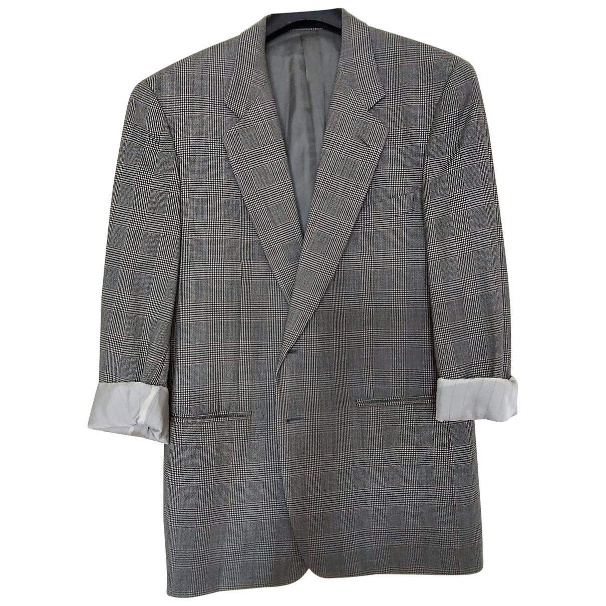 Corneliani - Vestes.Blousons   pour homme en laine - gris