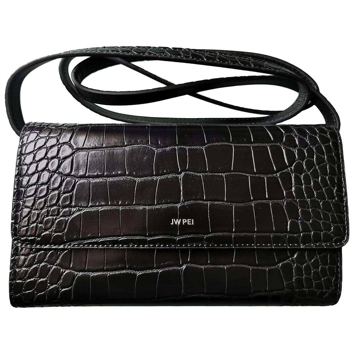 Jw Pei - Petite maroquinerie   pour femme en cuir exotique - noir
