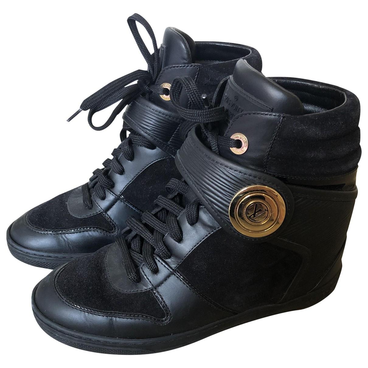 Louis Vuitton \N Black Leather Ankle boots for Women 35.5 EU