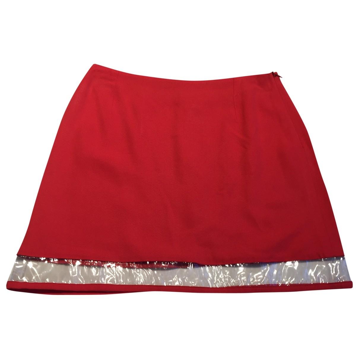 Versus \N Red skirt for Women 40 IT