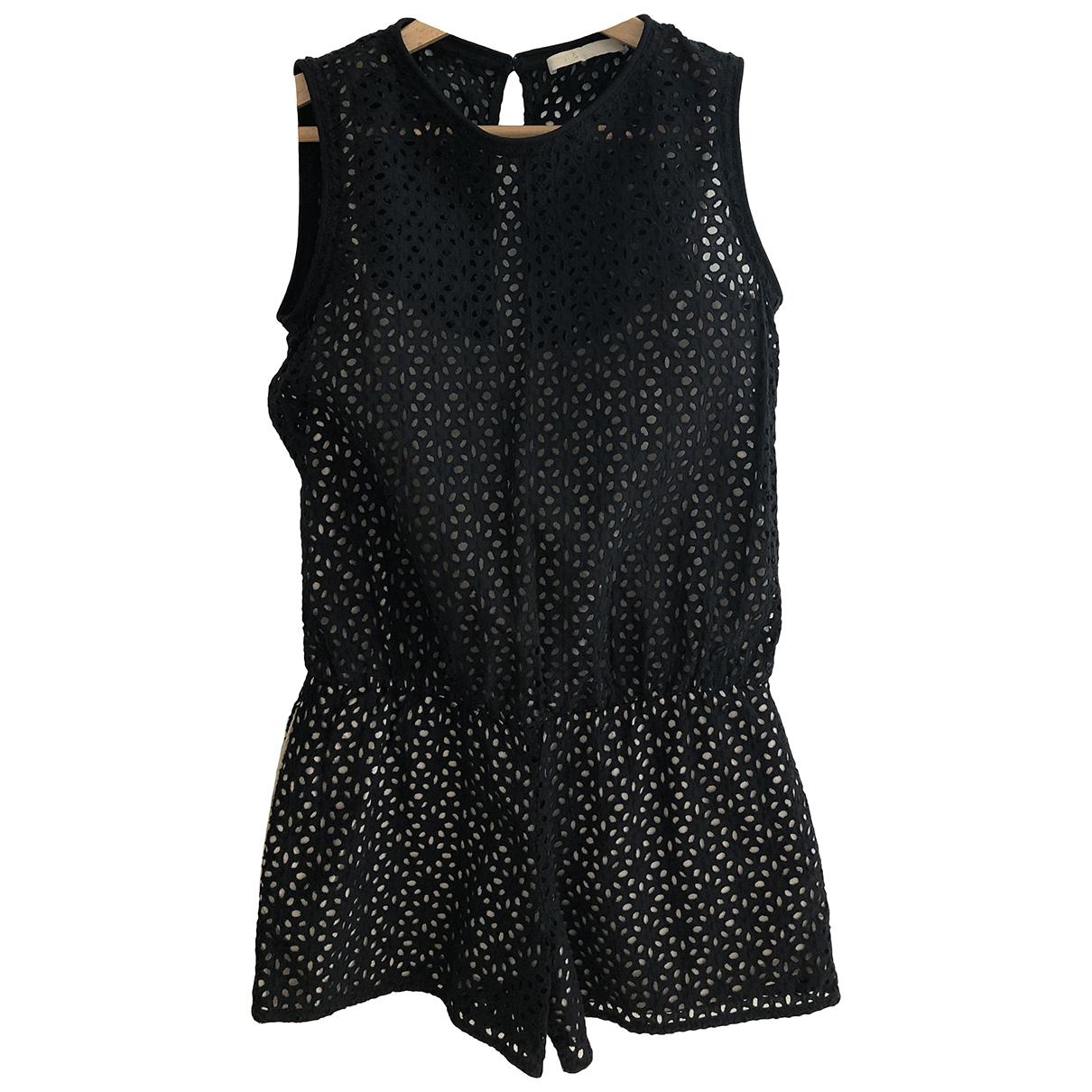 Maje - Combinaison   pour femme en coton - noir