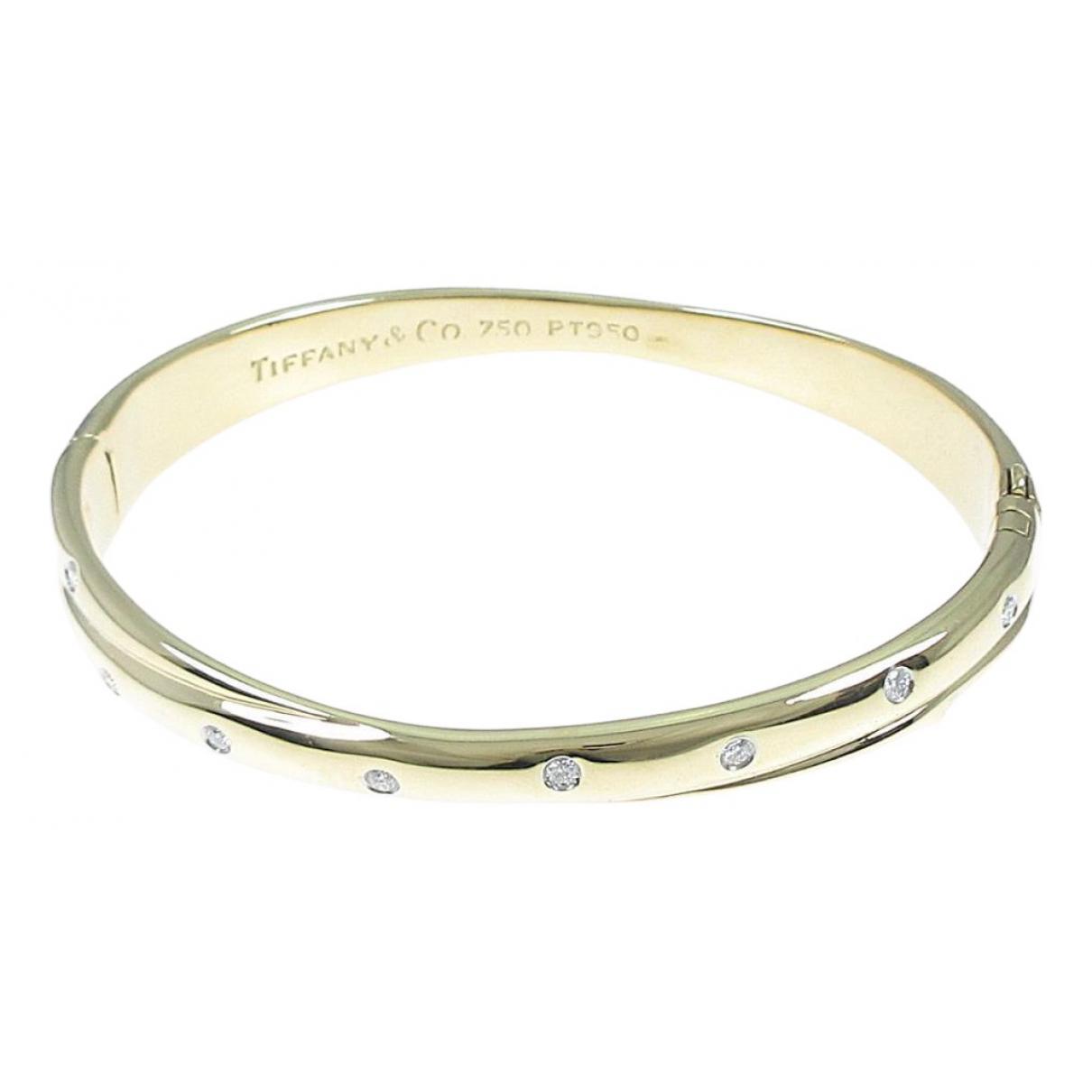 Tiffany & Co - Bracelet   pour femme en or jaune - dore