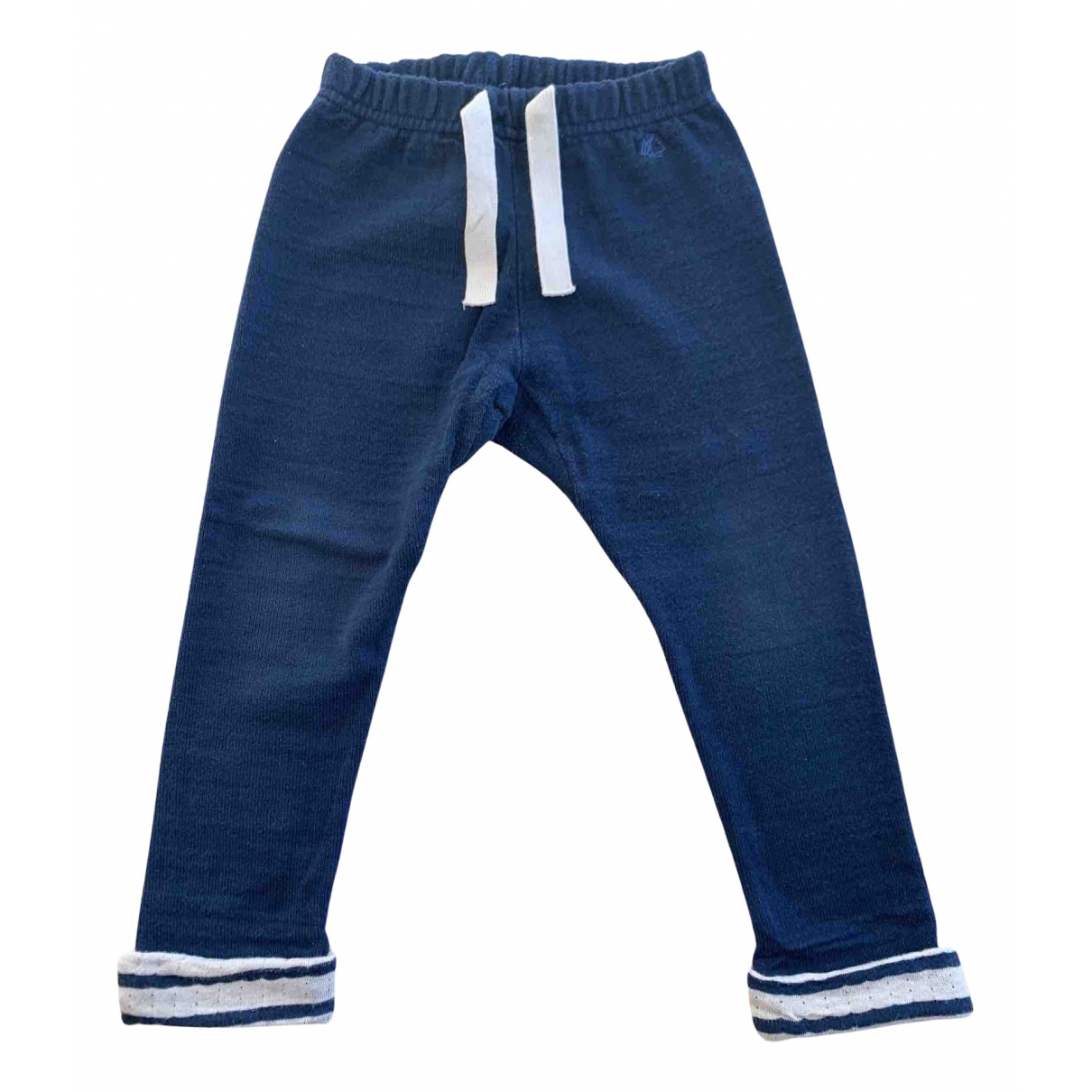 Petit Bateau N Navy Cotton Trousers for Kids 3 years - up to 98cm FR