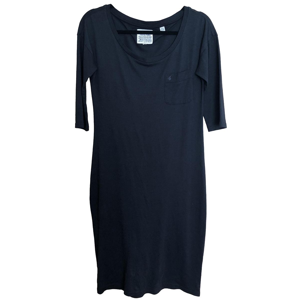 Jack Wills - Robe   pour femme en coton - noir