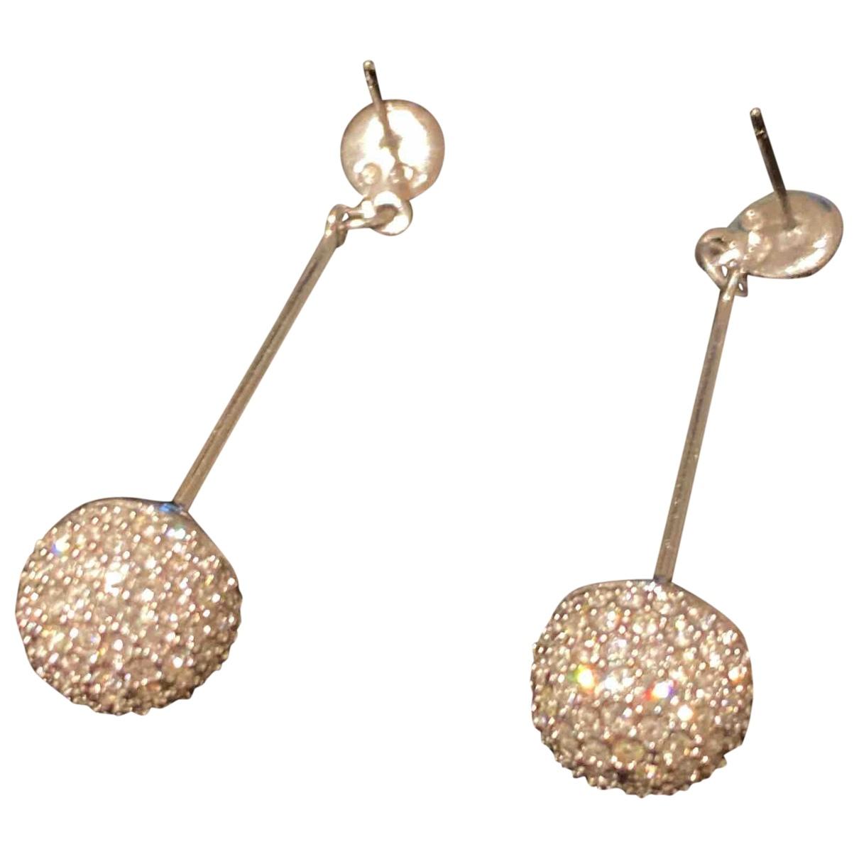 Swarovski \N Silver Metal Earrings for Women \N