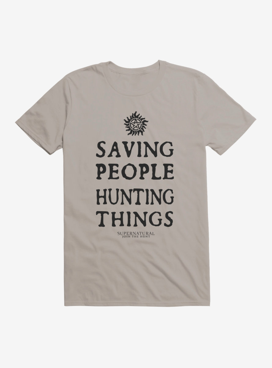 Supernatural Saving People Hunting Things T-Shirt