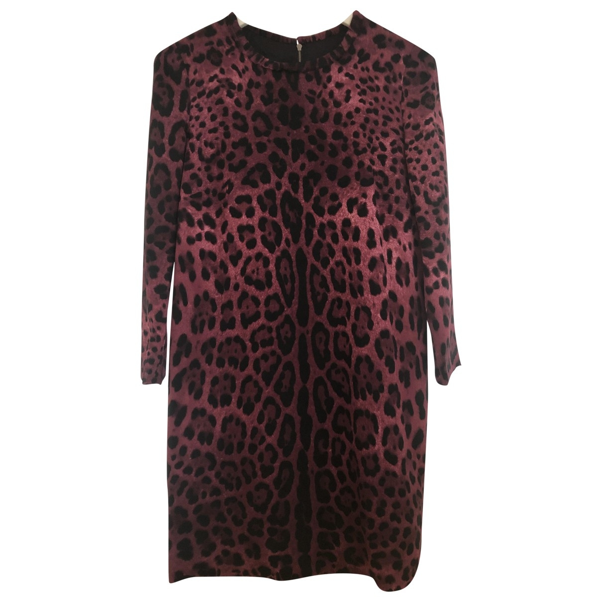 Mini vestido de Seda Dolce & Gabbana