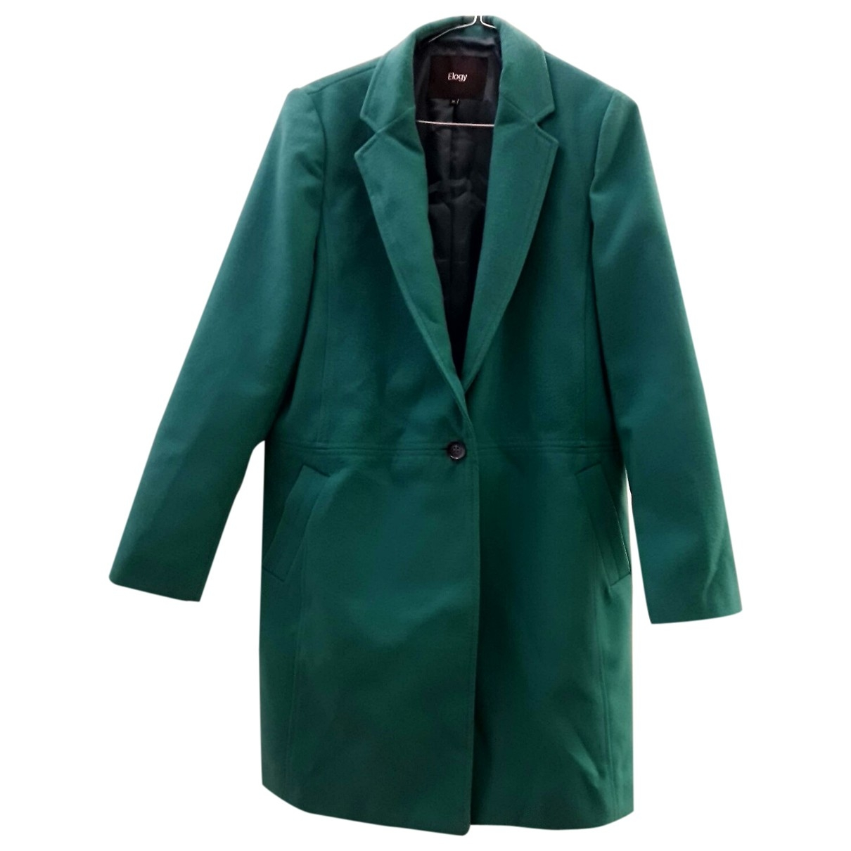 Non Signé / Unsigned \N Green coat for Women M International