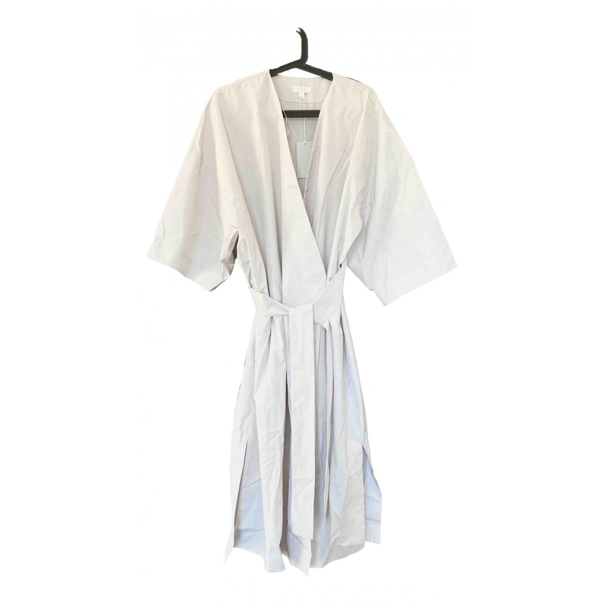 Cos - Robe   pour femme en coton - beige