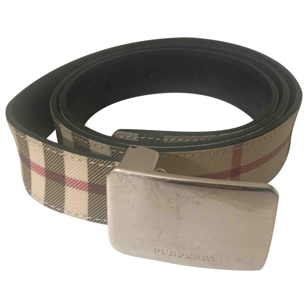 Cinturon de Lona Burberry