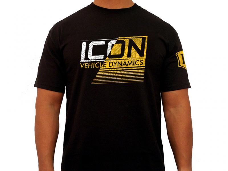 ICON Vehicle Dynamics ICON STRIKEOUT TEE BLACK - SMALL