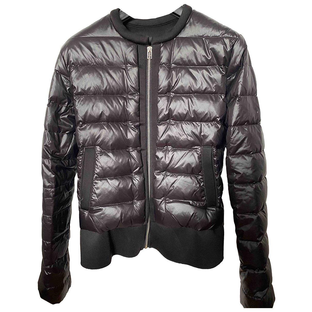 Maje Fall Winter 2019 Black Leather jacket for Women 36 FR