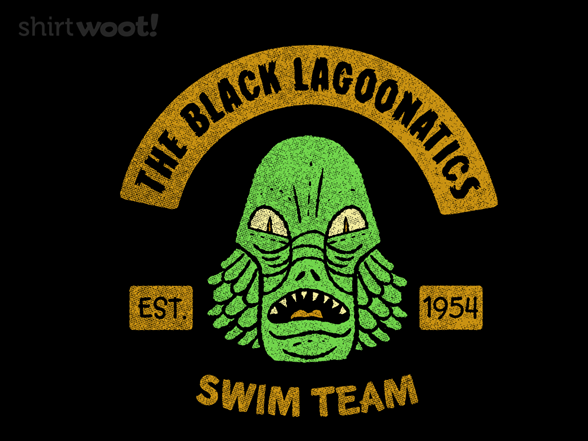 The Black Lagoonatics T Shirt