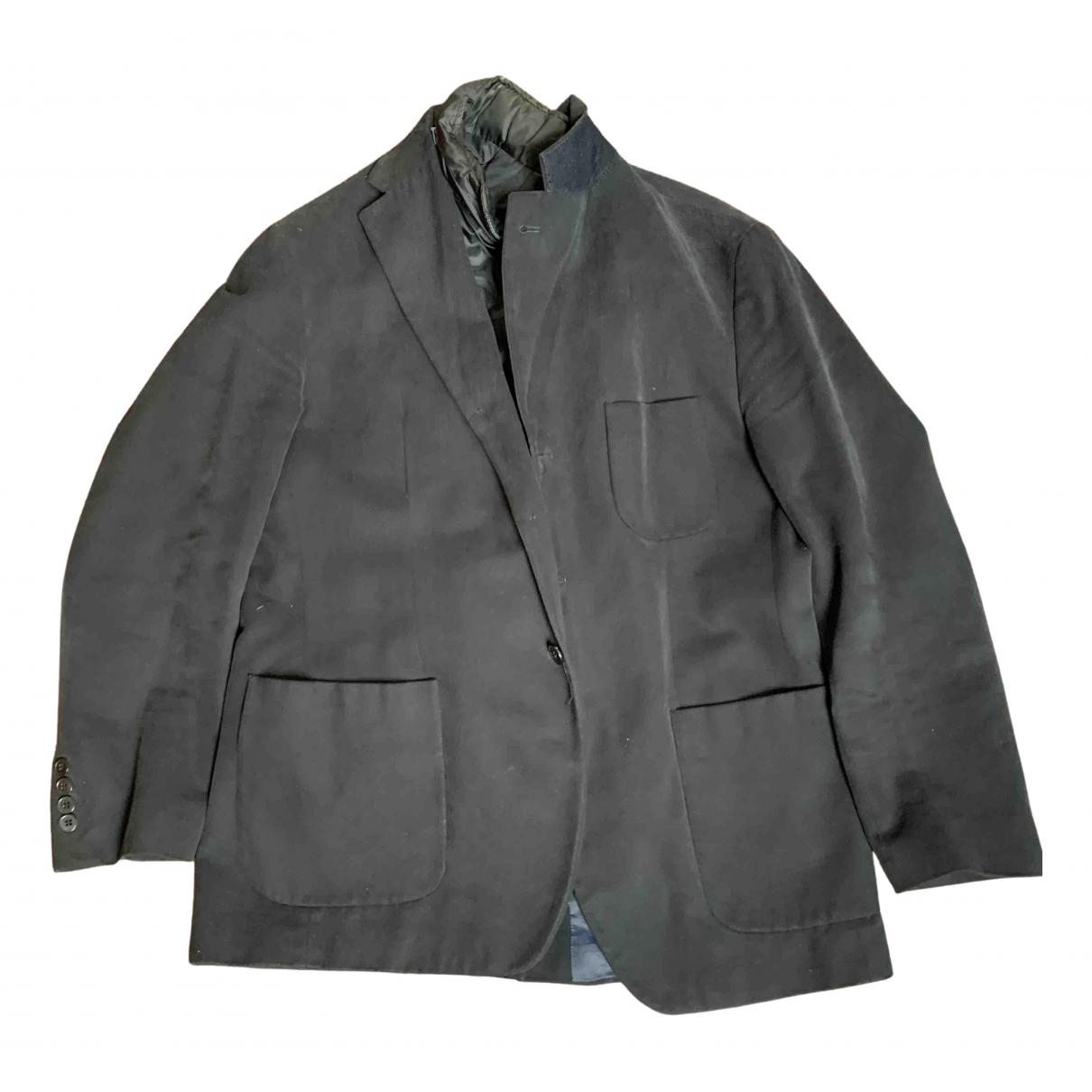 Non Signé / Unsigned N Blue jacket  for Men L International