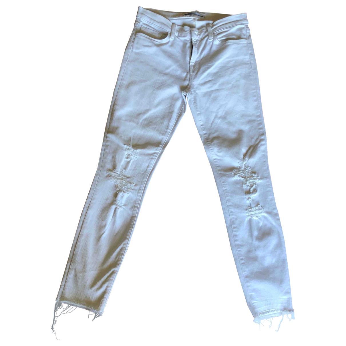 J Brand \N White Denim - Jeans Jeans for Women 26 US