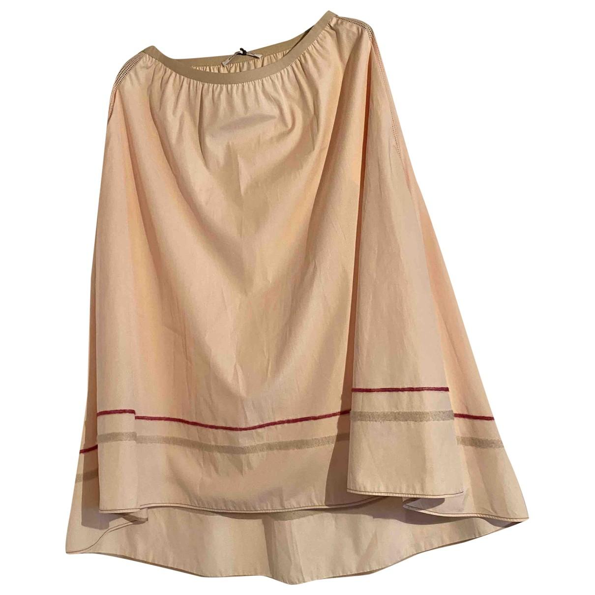 Agnona - Jupe   pour femme en coton - rose