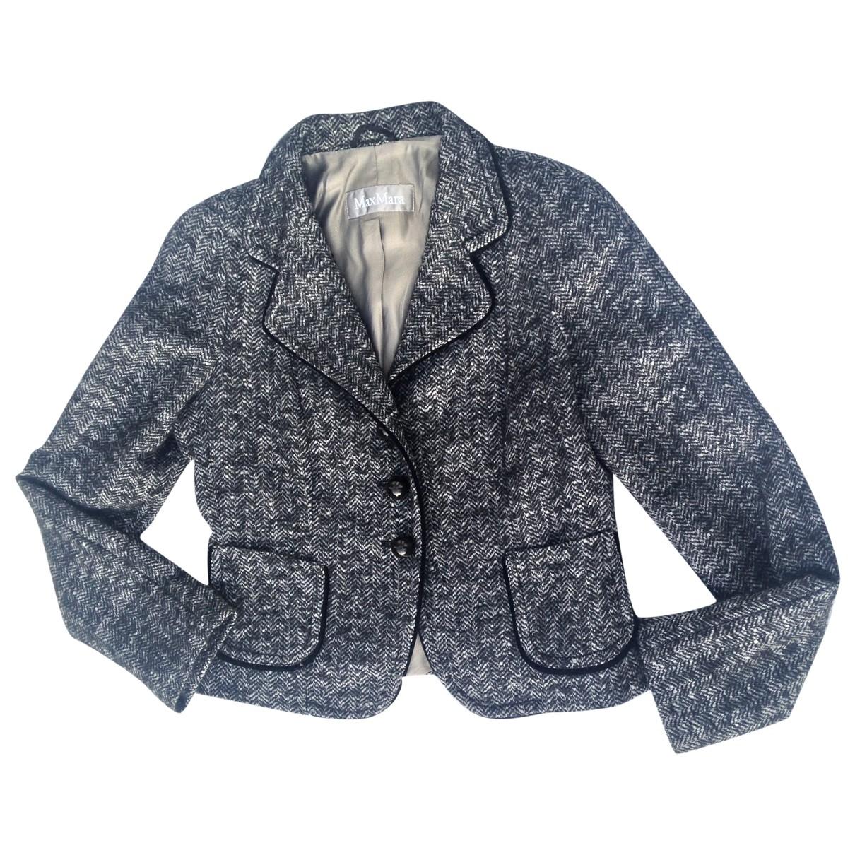 Max Mara \N Multicolour Wool jacket for Women 14 UK