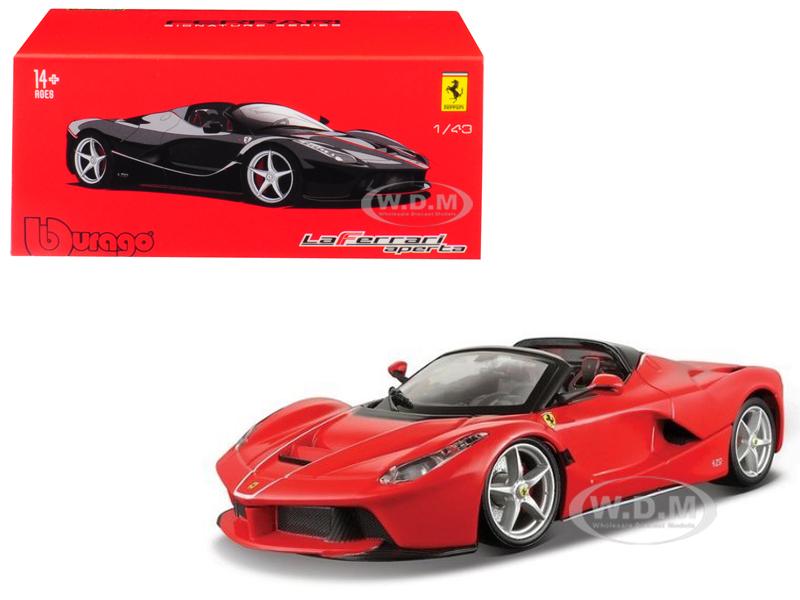 Ferrari LaFerrari Aperta Red