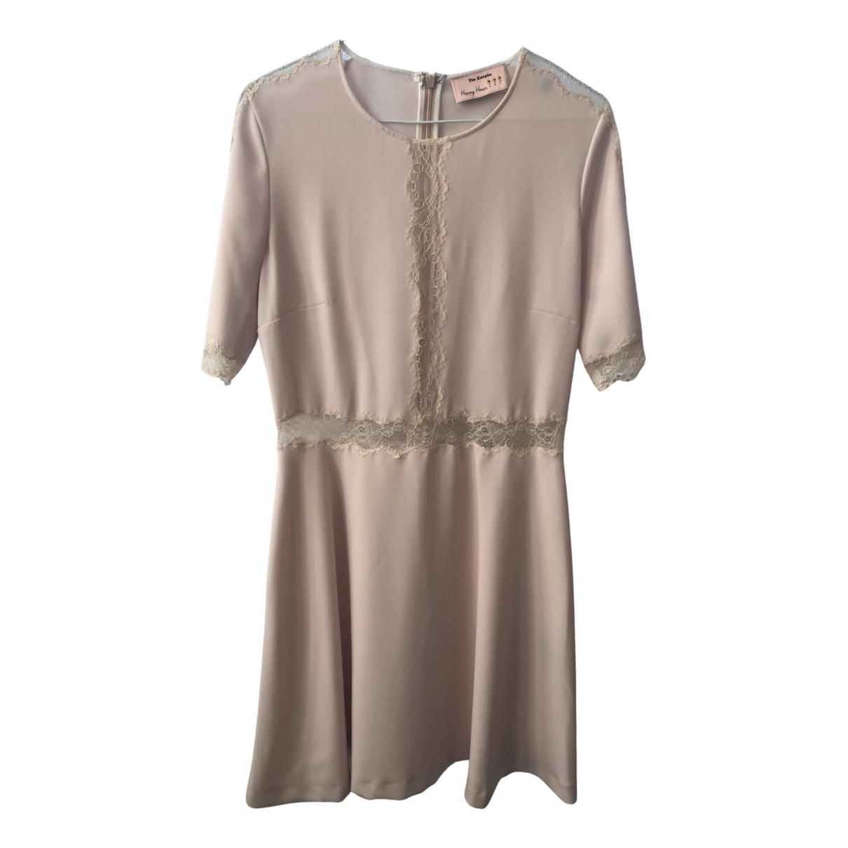 The Kooples Spring Summer 2019 Kleid in  Rosa Polyester