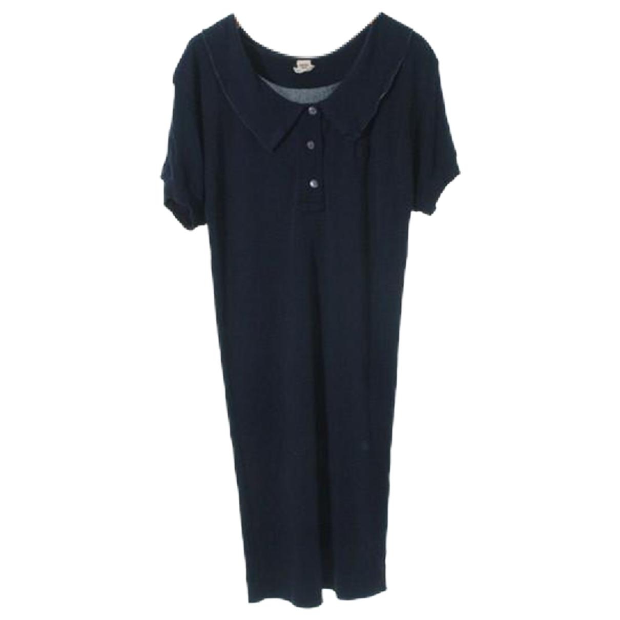 Hermes - Robe   pour femme - bleu