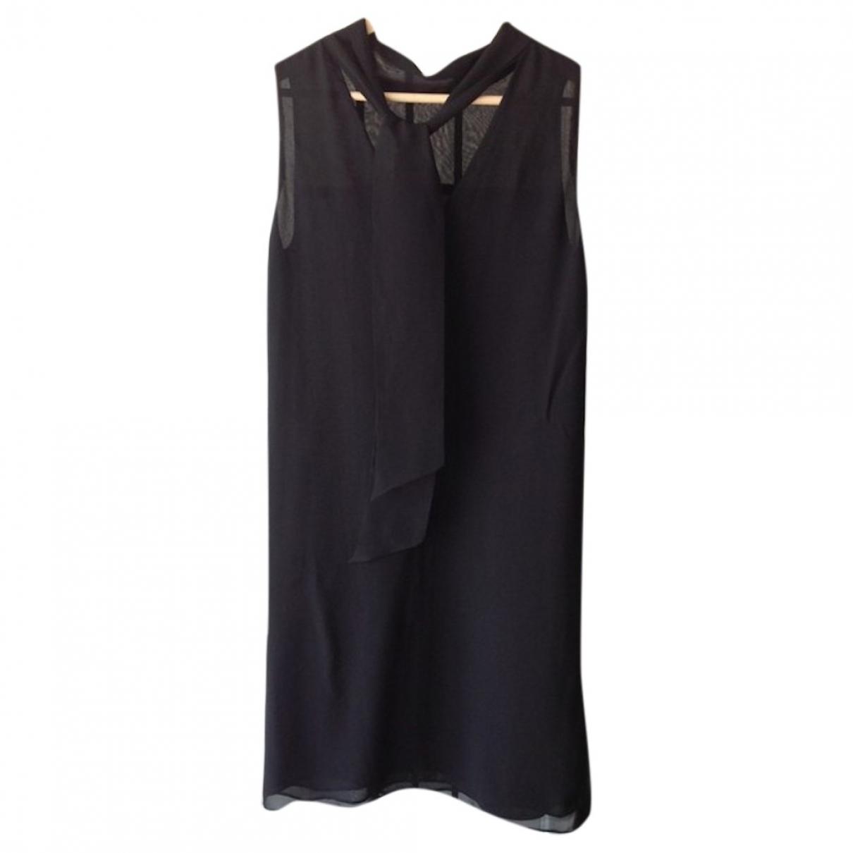 Gerard Darel \N Black Silk dress for Women 36 FR