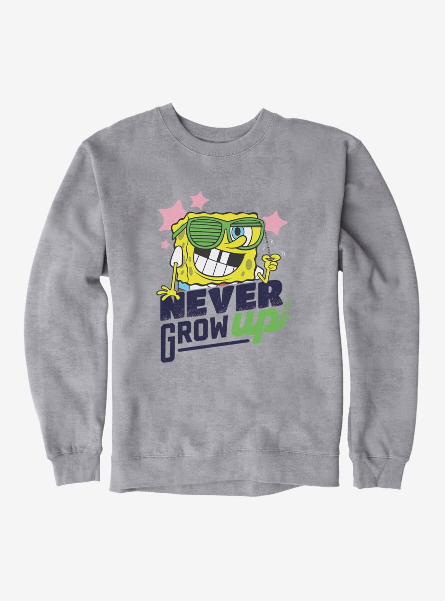 SpongeBob SquarePants Never Grow Up Sweatshirt