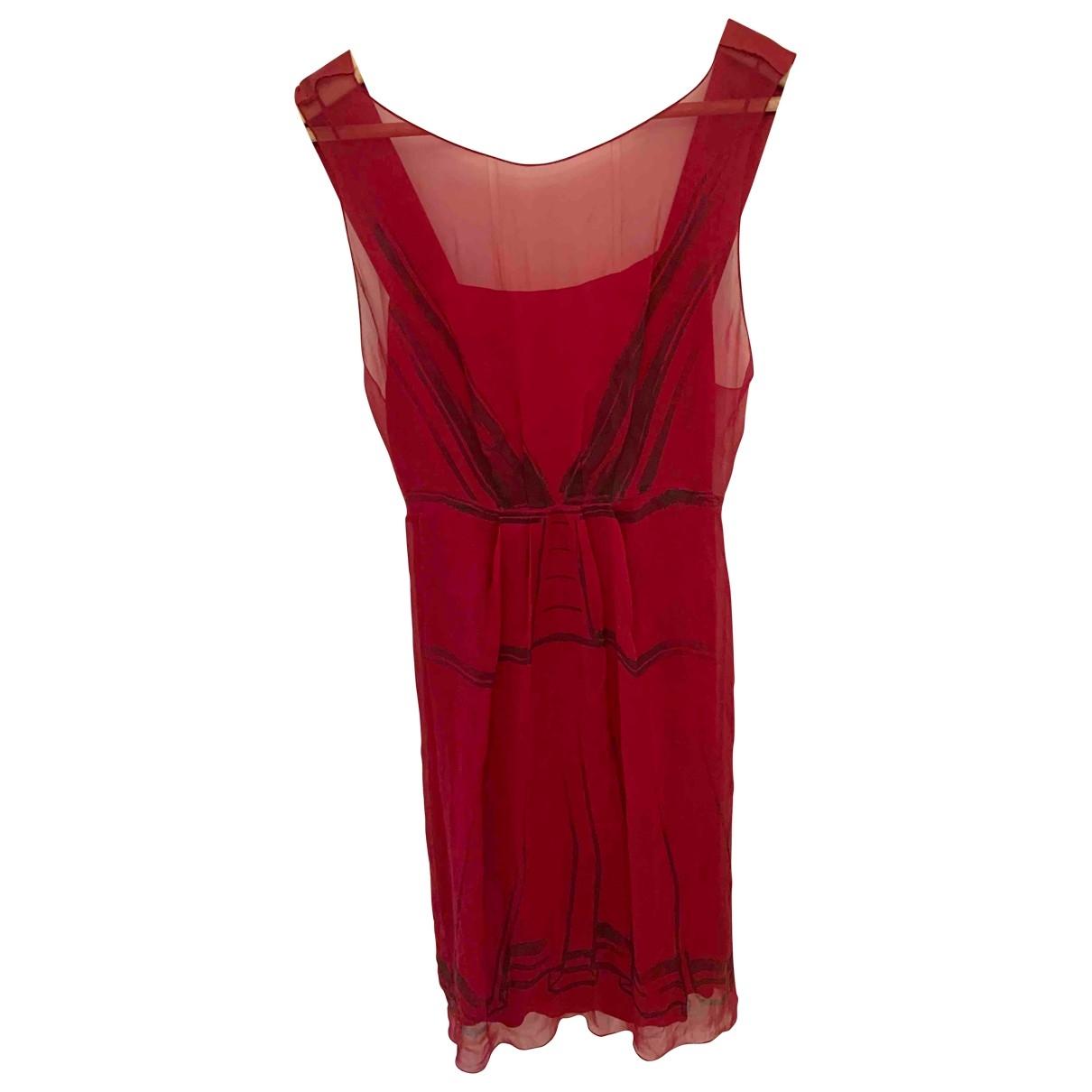 Alberta Ferretti \N Red dress for Women 36 FR