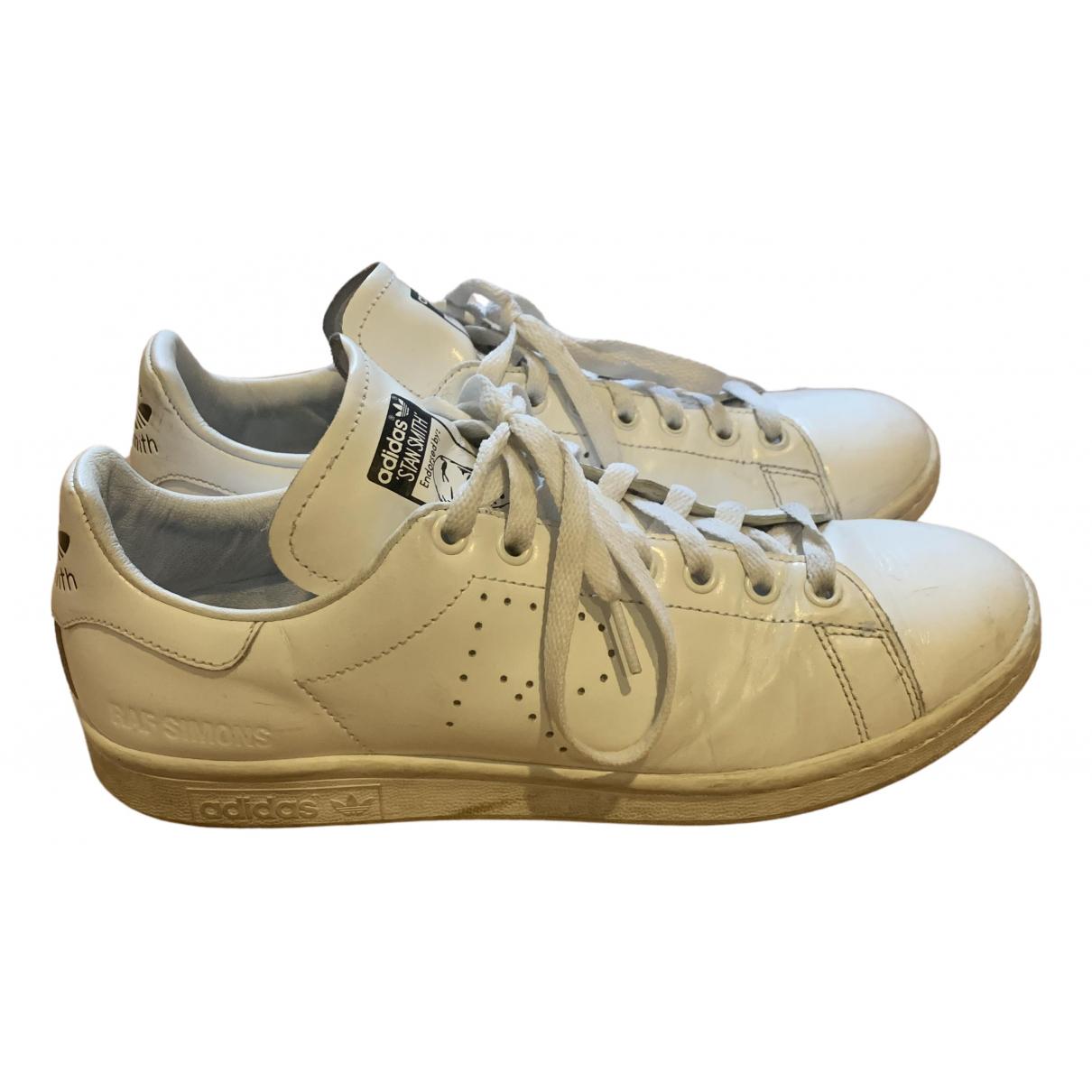 Adidas X Raf Simons Stan Smith White Leather Trainers for Men 42 EU