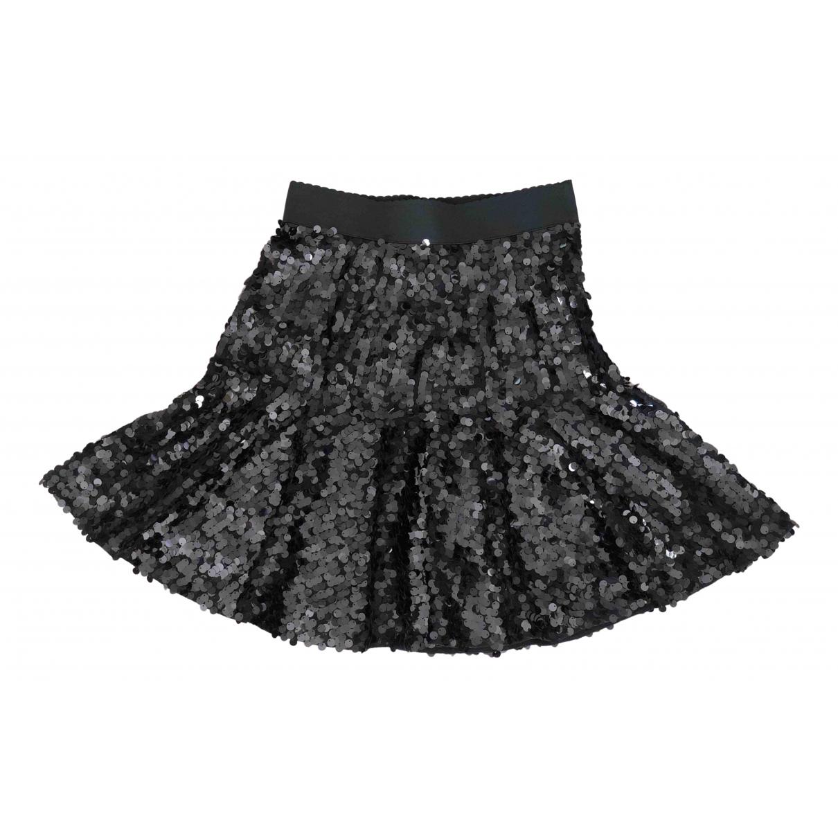 Dolce & Gabbana - Jupe   pour femme en a paillettes - noir
