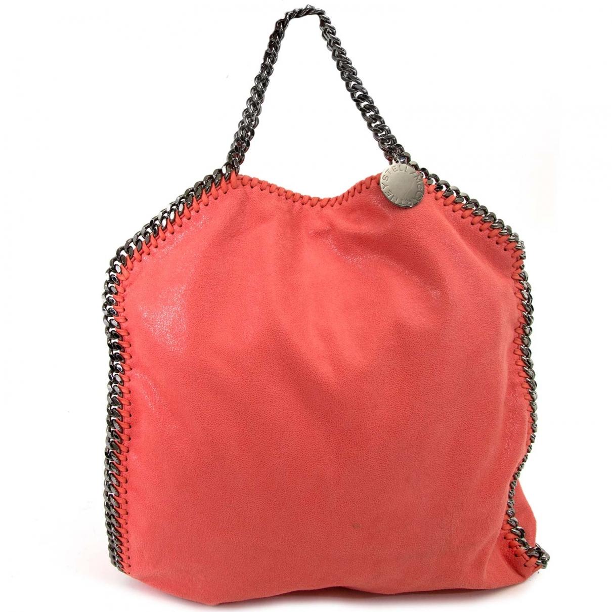 Stella Mccartney Falabella Pink Cloth handbag for Women \N