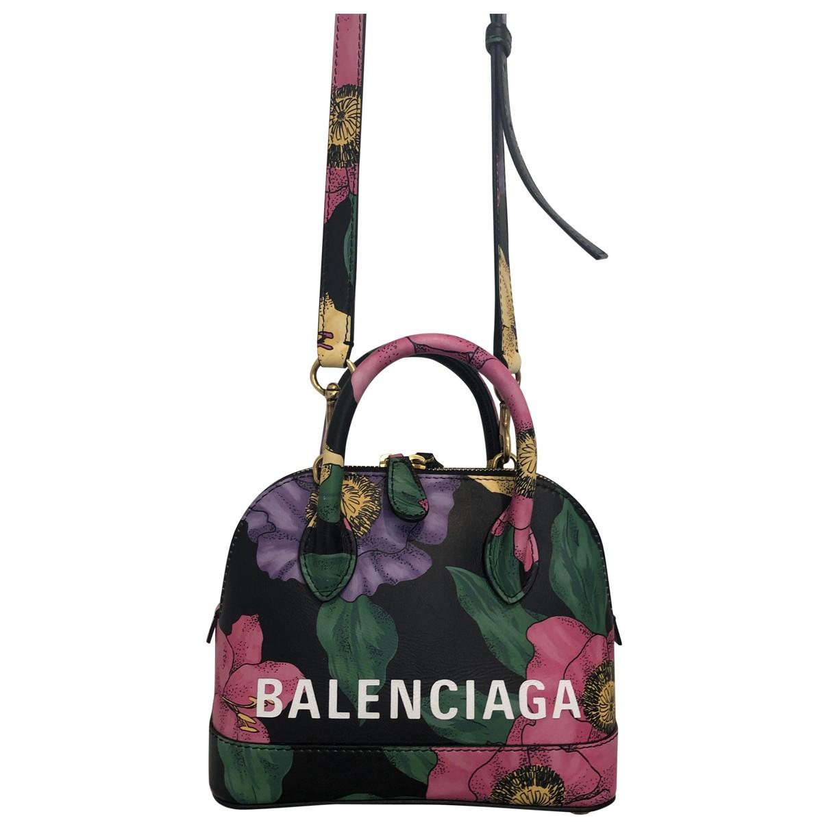 Balenciaga Ville Top Handle Multicolour Leather handbag for Women \N