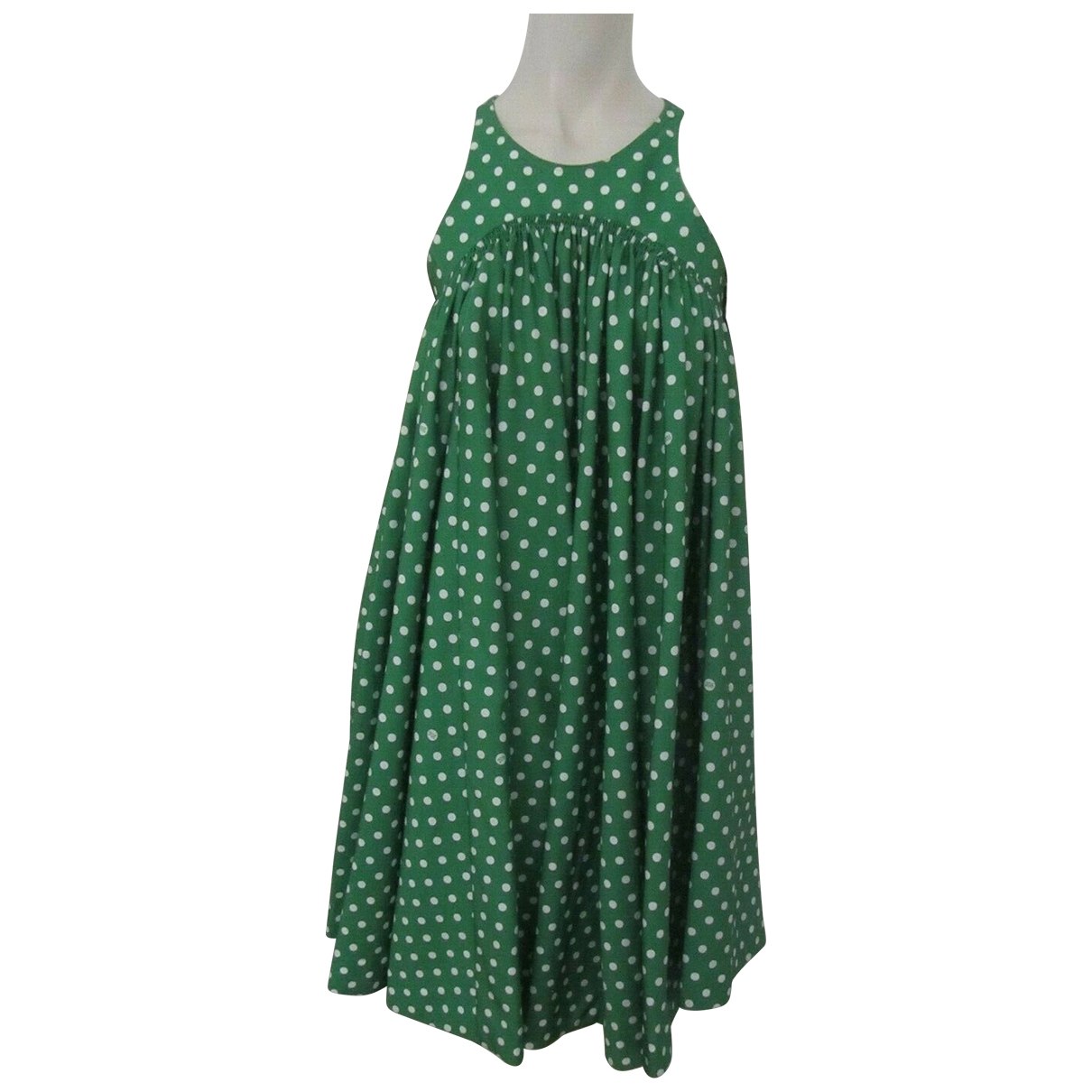Calvin Klein 205w39nyc \N Kleid in  Gruen Synthetik
