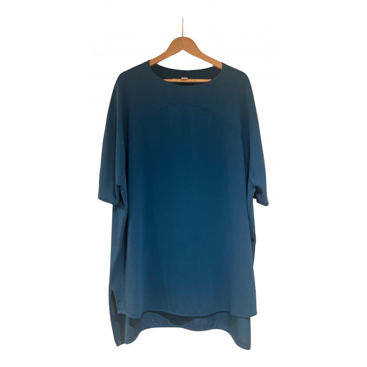 Diane Von Furstenberg - Top   pour femme - turquoise