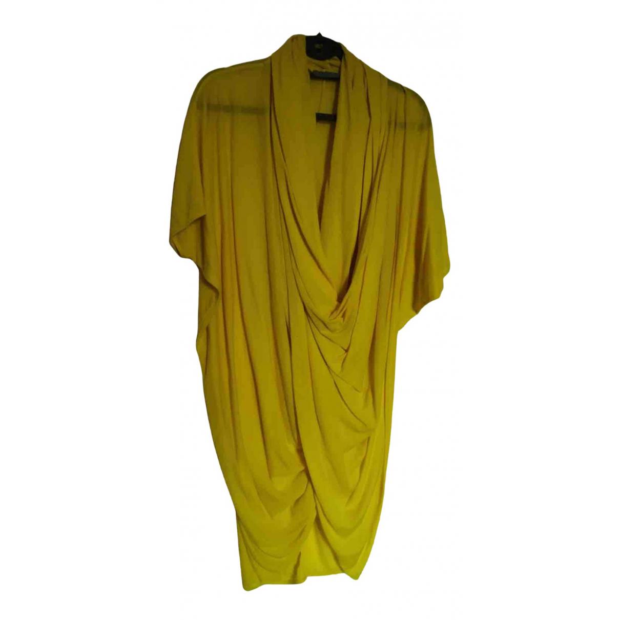 Cos \N Kleid in  Gelb Baumwolle