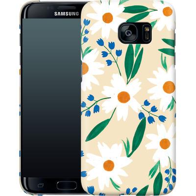 Samsung Galaxy S7 Edge Smartphone Huelle - Daisy Chain von Iisa Monttinen