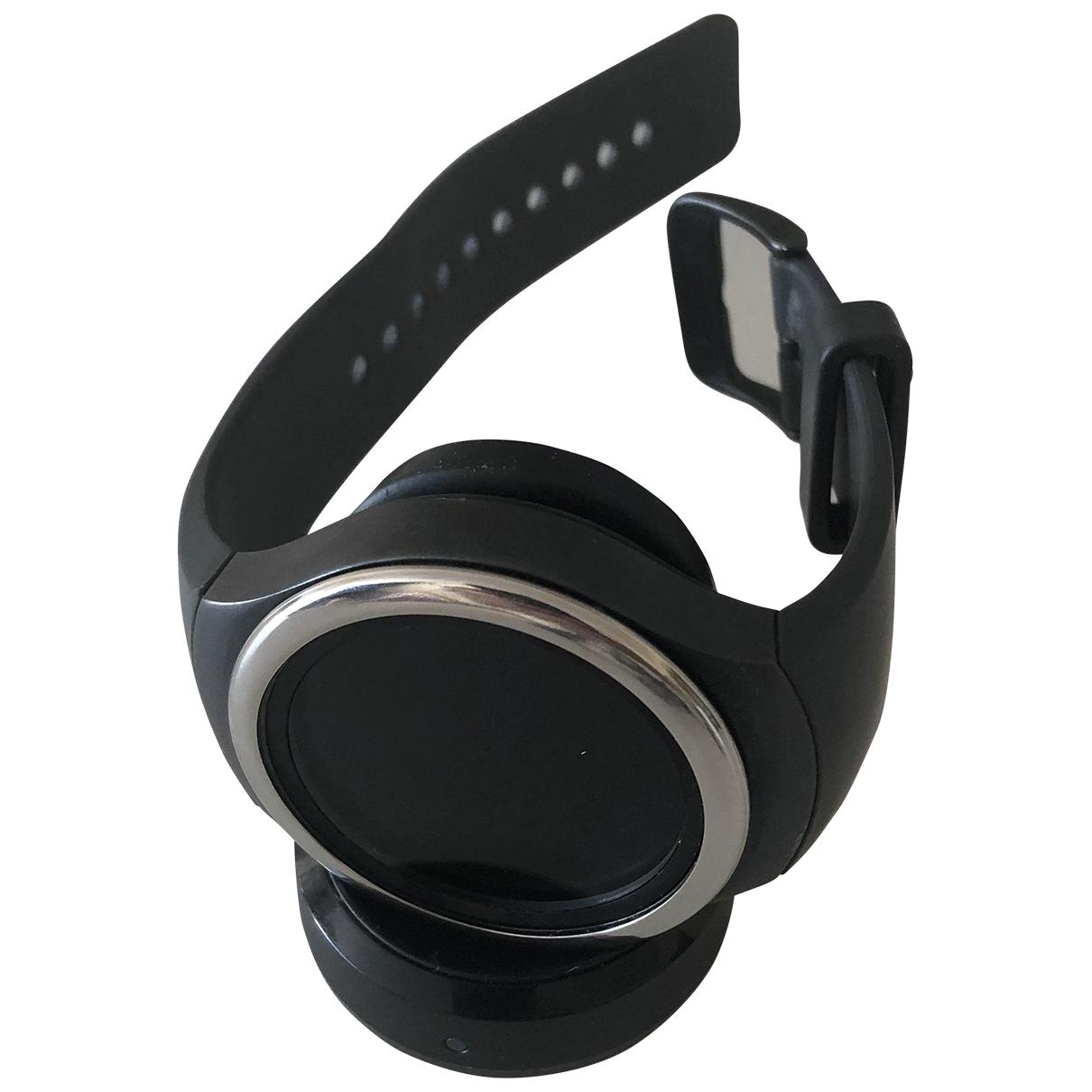 Samsung \N Uhr in  Schwarz Stahl