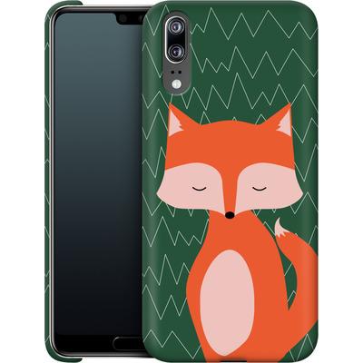 Huawei P20 Smartphone Huelle - Fox on Green von caseable Designs