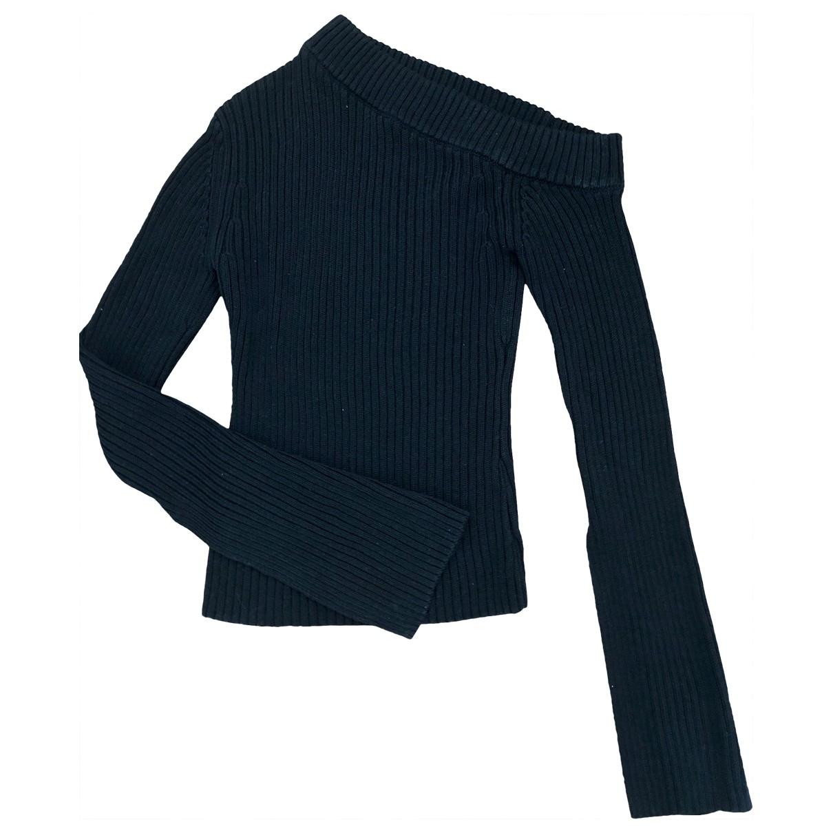 Solace London \N Black Cotton Knitwear for Women 6 UK