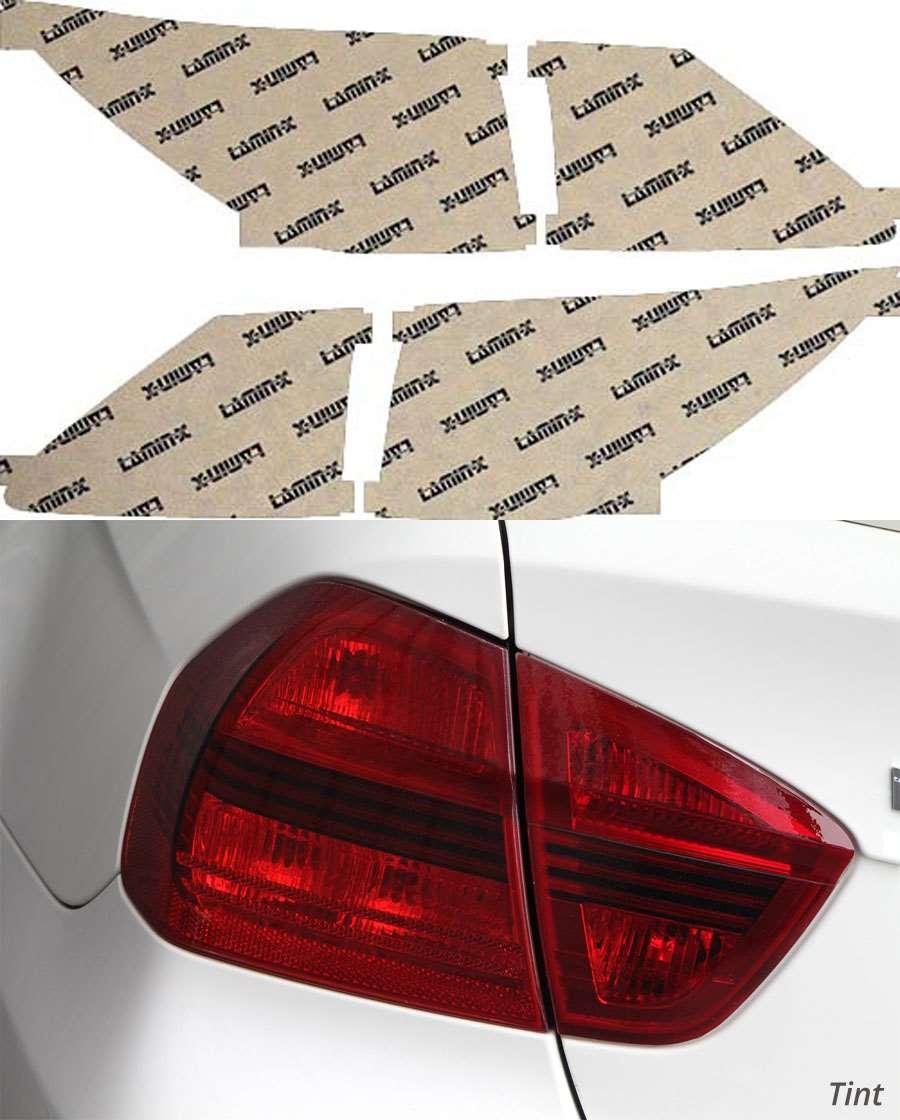 Lexus IS Convertible 10-13 Tint Tail Light Covers Lamin-X L609T