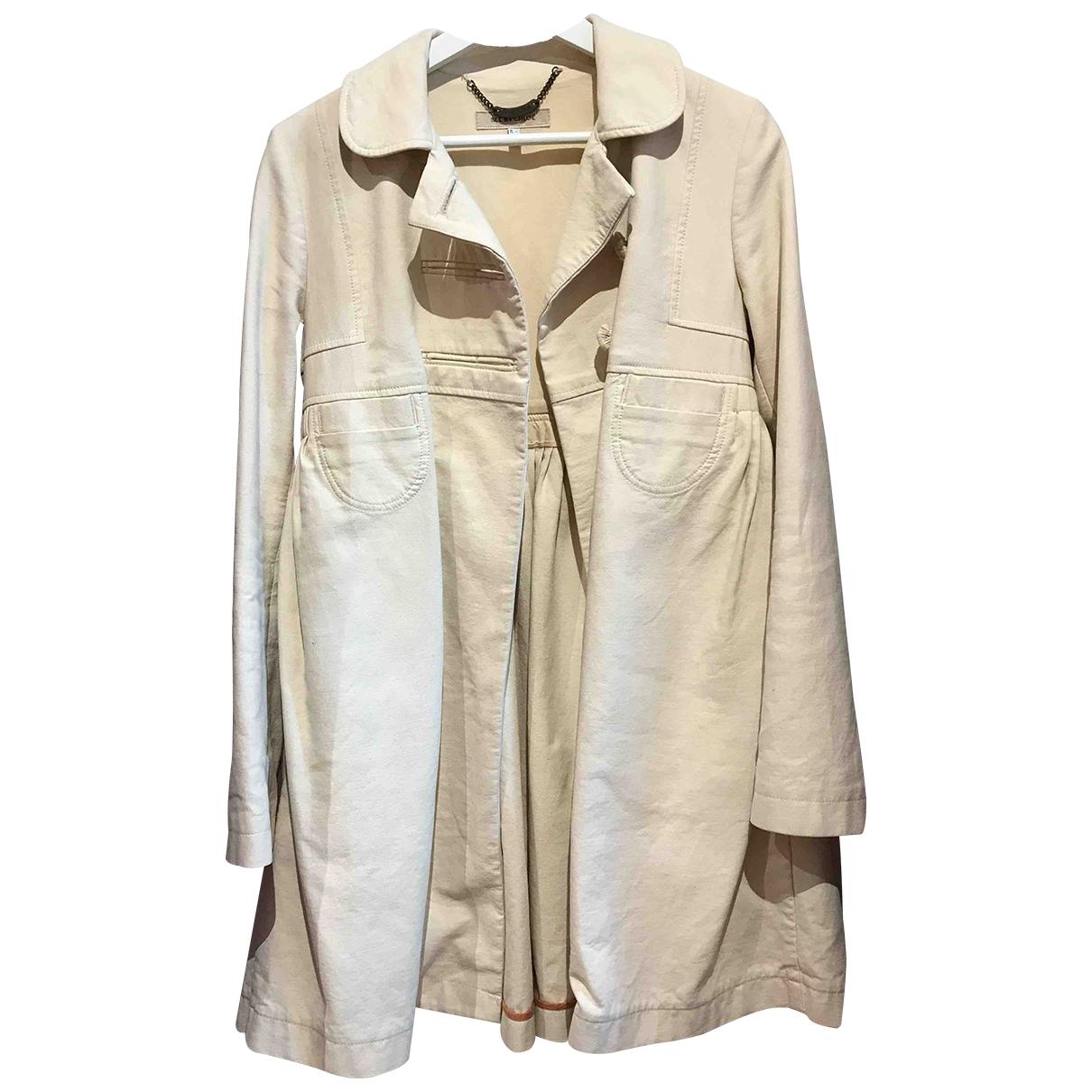 See By Chloé \N Beige Cotton jacket for Women 40 IT