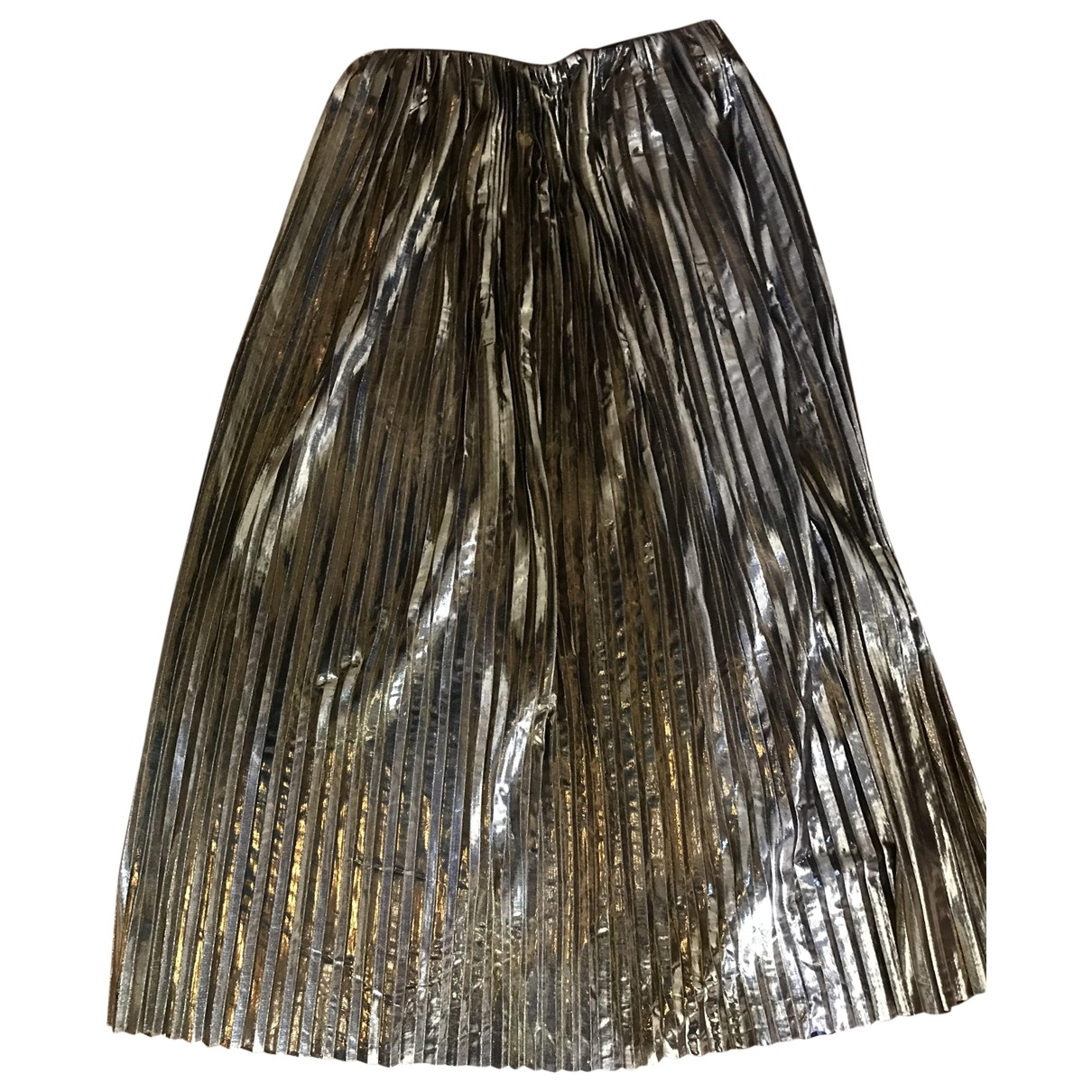 Non Signe / Unsigned \N Rocke in  Metallic Polyester