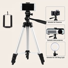 1pc Phone Adjustable Tripod Holder