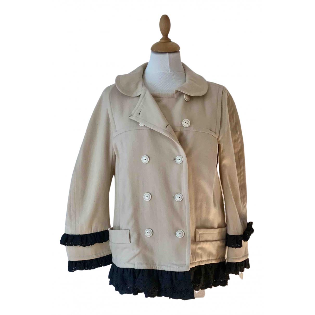 Marc By Marc Jacobs - Veste   pour femme en laine - beige