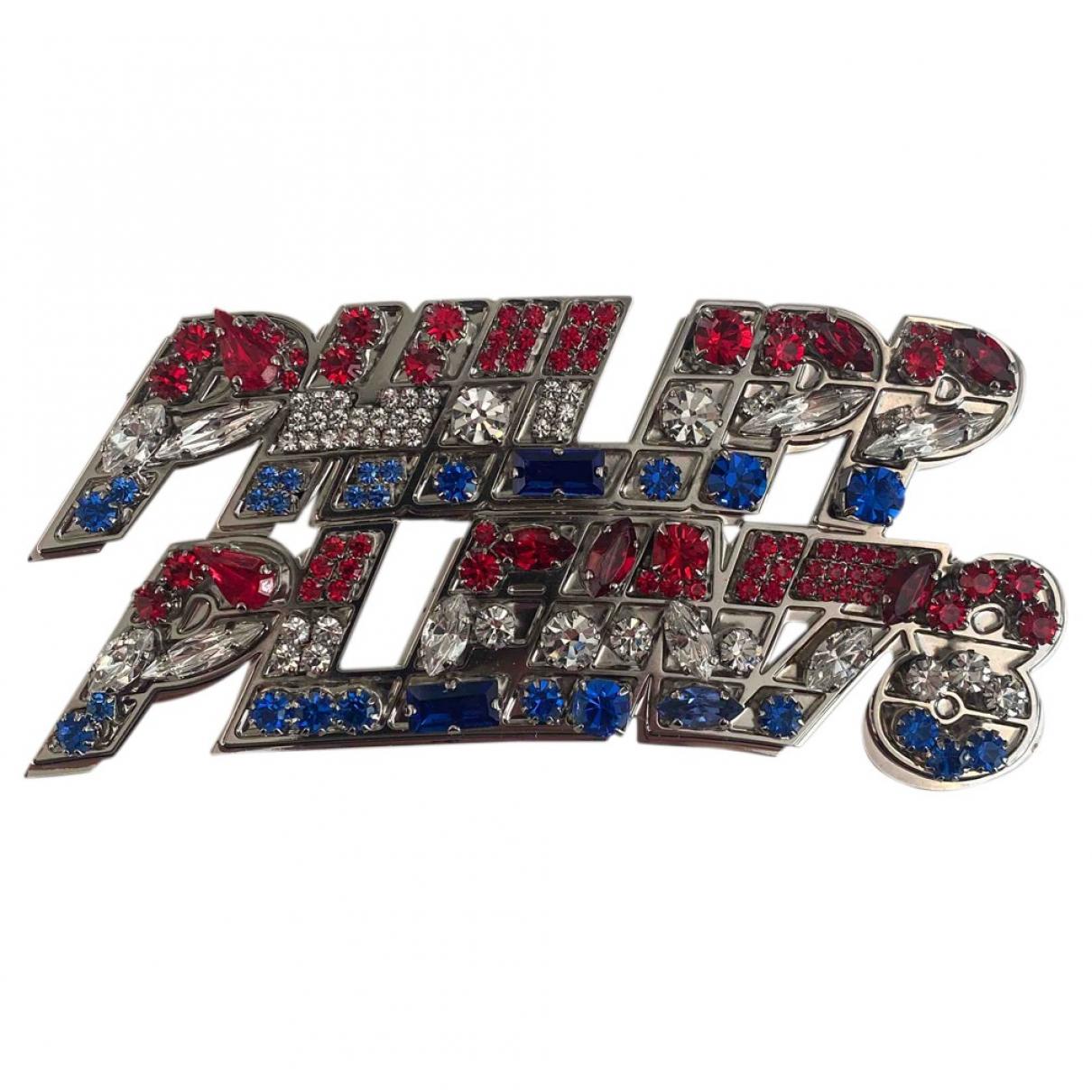Philipp Plein - Bijoux   pour homme en metal - argente