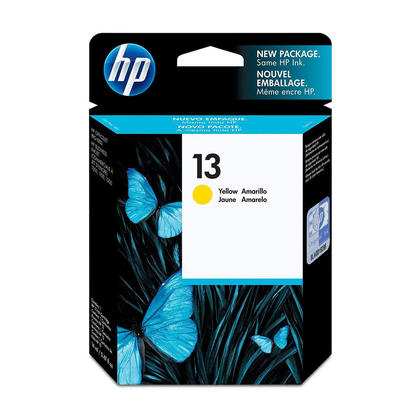 HP 13 C4817A Original Yellow Ink Cartridge