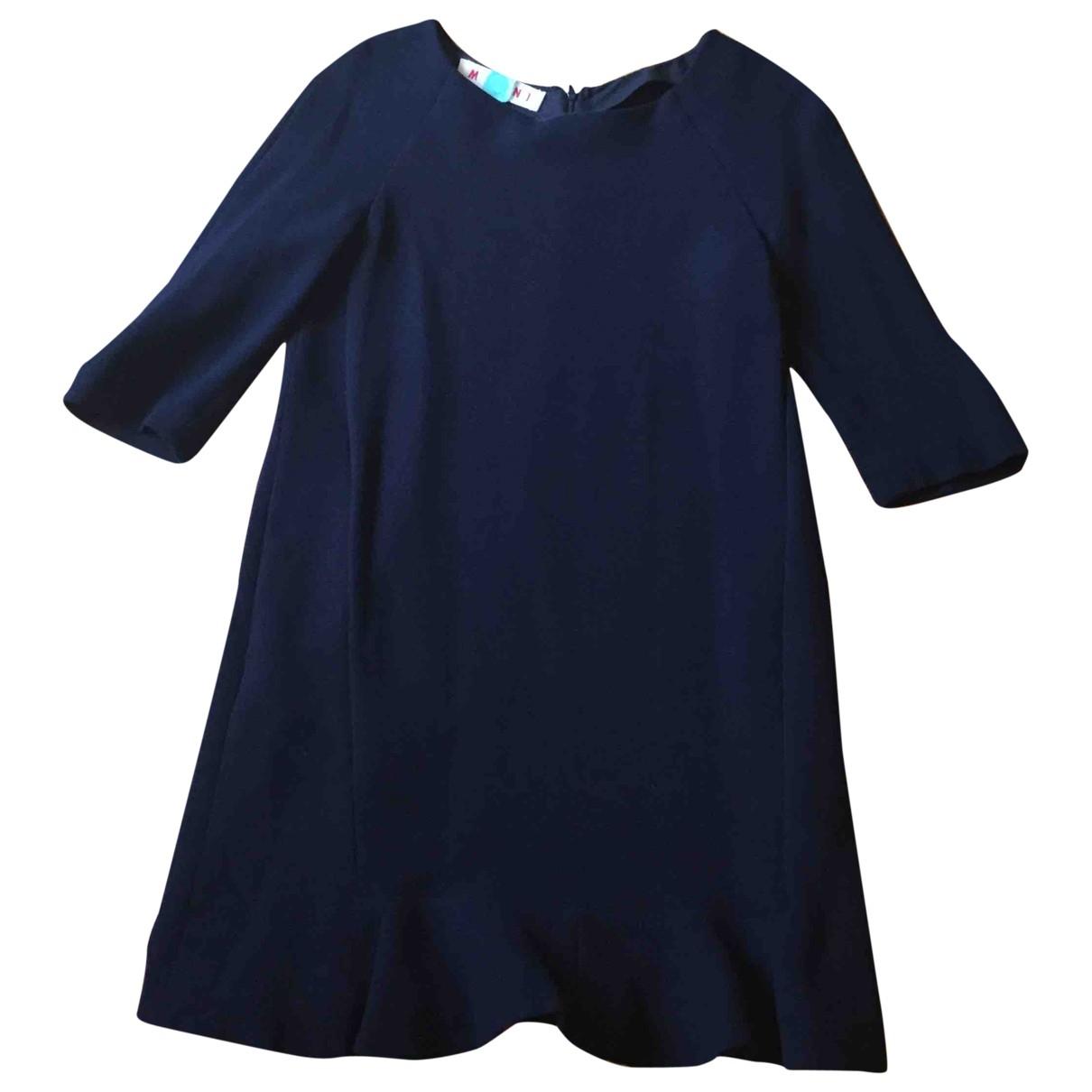 Marni \N Kleid in  Blau Wolle